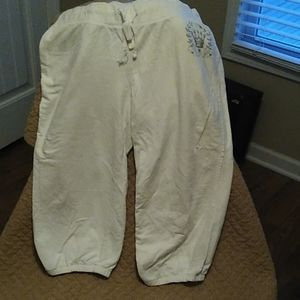 Capri sweatpant size XL